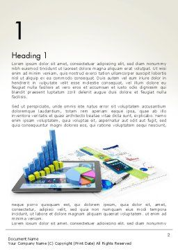 Financial Analysis and Report Word Template, First Inner Page, 13677, Financial/Accounting — PoweredTemplate.com