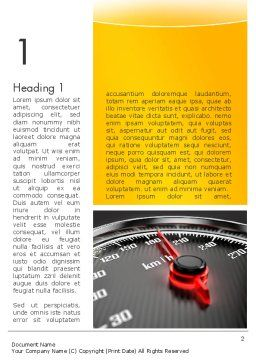Dangerous Speeding Word Template, First Inner Page, 13693, Cars/Transportation — PoweredTemplate.com