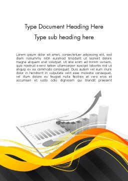 Pricing Analytics Word Template Cover Page