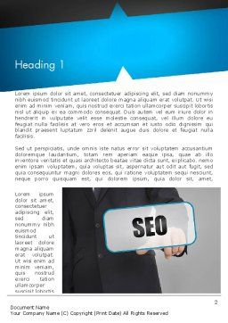 SEO Solution Word Template, First Inner Page, 13714, Careers/Industry — PoweredTemplate.com