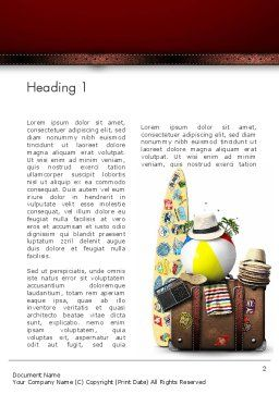 Ready For Vacation Word Template First Inner Page