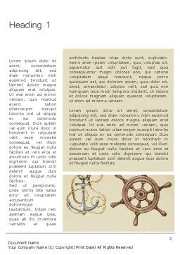Seamless Nautical Pattern Word Template First Inner Page