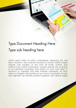 Accounting Services Word Template Cover Page