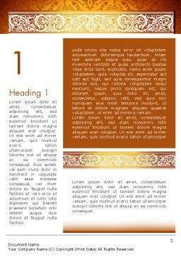 Arabesque Pour Word modèle word de arabesque | 13799 | poweredtemplate