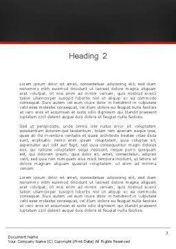 Solution With Gear Concept Word Template, Second Inner Page, 13803, Business Concepts — PoweredTemplate.com