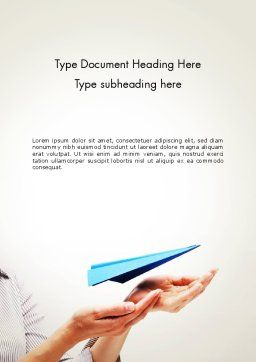 New Issue Concept Word Template, Cover Page, 13816, Business Concepts — PoweredTemplate.com
