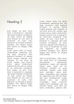 Ethical Code Word Template, Second Inner Page, 13823, Business — PoweredTemplate.com