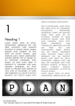 Types of Planning Word Template, First Inner Page, 13855, Business — PoweredTemplate.com