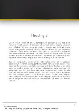 Digital Currency Word Template Second Inner Page