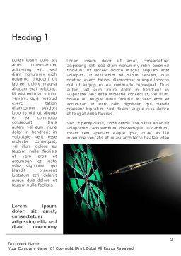 Bullseye Arrow Word Template, First Inner Page, 13862, Sports — PoweredTemplate.com