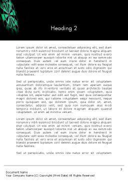 Bullseye Arrow Word Template, Second Inner Page, 13862, Sports — PoweredTemplate.com