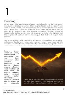 Business Risk Word Template, First Inner Page, 13887, Consulting — PoweredTemplate.com