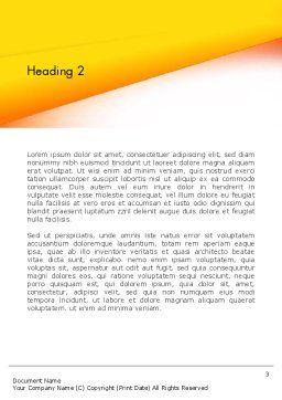 Memorizing Word Template, Second Inner Page, 13985, Education & Training — PoweredTemplate.com
