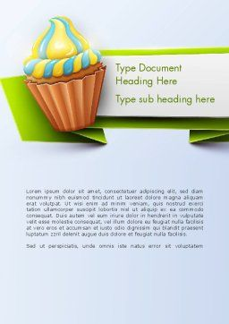 Birthday Banner Word Template, Cover Page, 13992, Holiday/Special Occasion — PoweredTemplate.com