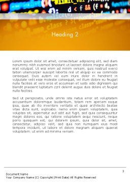 Programming Code Word Template Second Inner Page