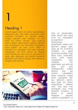 SEO Agency Word Template, First Inner Page, 14026, Consulting — PoweredTemplate.com