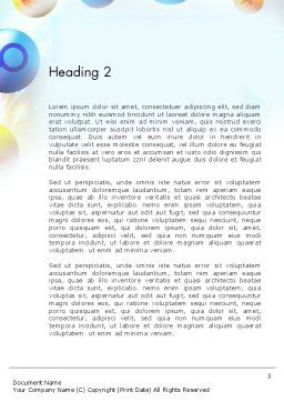 Conceptual Social Networking Word Template Second Inner Page