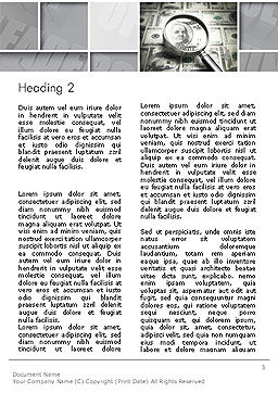 Team Solution Success Word Template, Second Inner Page, 14092, Business — PoweredTemplate.com