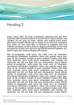 Seacoast Word Template, Second Inner Page, 14124, Holiday/Special Occasion — PoweredTemplate.com