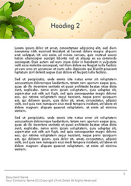 Happy Summer Holidays Word Template, Second Inner Page, 14142, Holiday/Special Occasion — PoweredTemplate.com