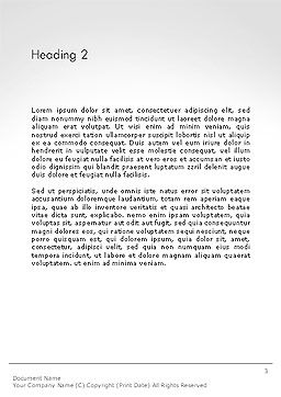 Camera Film Roll Word Template, Second Inner Page, 14143, Careers/Industry — PoweredTemplate.com