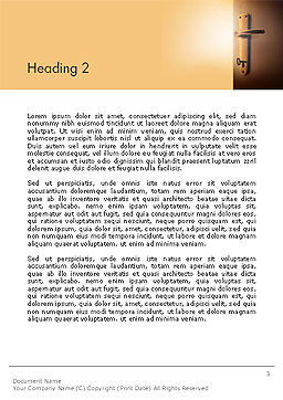 Know Yourself Word Template, Second Inner Page, 14152, Consulting — PoweredTemplate.com