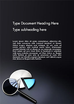 Data Audit Word Template, Cover Page, 14161, Consulting — PoweredTemplate.com