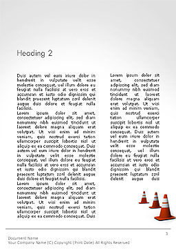 Making Changes Word Template, Second Inner Page, 14172, Business Concepts — PoweredTemplate.com