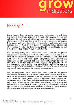 SEO Analysis Concept Word Template, Second Inner Page, 14321, Careers/Industry — PoweredTemplate.com