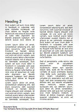 Rolled Newspaper with Headline Careers Word Template, Second Inner Page, 14431, Careers/Industry — PoweredTemplate.com