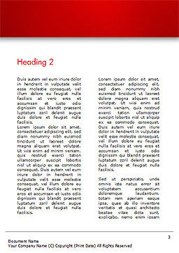 Coworking Office Space Word Template Second Inner Page