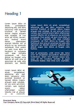 Competitive Business Word Template, First Inner Page, 14488, Business Concepts — PoweredTemplate.com