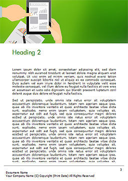Project Analyzing Word Template Second Inner Page