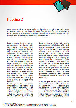Graphic Designer Word Template, Second Inner Page, 14641, Business Concepts — PoweredTemplate.com