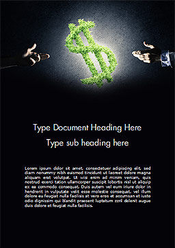 Concept of Investments Word Template, Cover Page, 14685, Financial/Accounting — PoweredTemplate.com