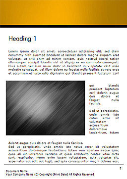 Gray Diagonal Pattern Word Template, First Inner Page, 14708, 3D — PoweredTemplate.com