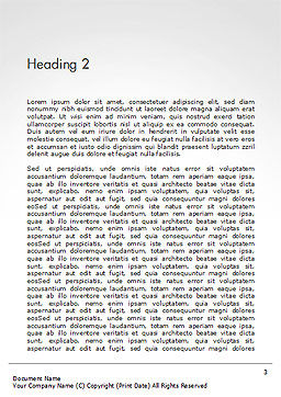 The Best Way To Lose Weight Word Template, Second Inner Page, 14722, Medical — PoweredTemplate.com