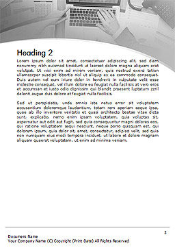 Project Review Word Template Second Inner Page