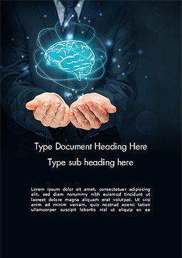 Artificial Intelligence for Business Word Template, Cover Page, 14789, Technology, Science & Computers — PoweredTemplate.com