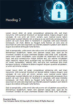 Data Protection Officer Word Template Second Inner Page