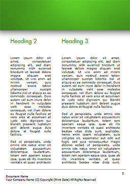 Call Center Agent Word Template, Second Inner Page, 15061, Careers/Industry — PoweredTemplate.com