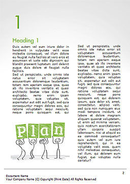 Business Plan Strategy Changing Word Template, First Inner Page, 15256, Business Concepts — PoweredTemplate.com