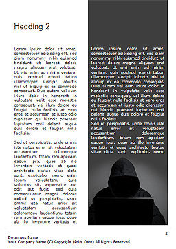 Computer Hacker Word Template, Second Inner Page, 15280, Technology, Science & Computers — PoweredTemplate.com