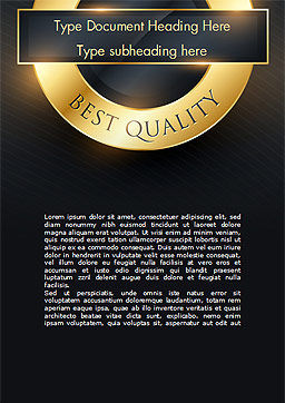 Best Quality Word Template, Cover Page, 15305, Business Concepts — PoweredTemplate.com