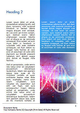 Brain Work Concept Word Template, Second Inner Page, 15347, Medical — PoweredTemplate.com