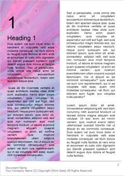 Fluid art presentation免费Word模板, 第一内页, 16521, Art & Entertainment — PoweredTemplate.com