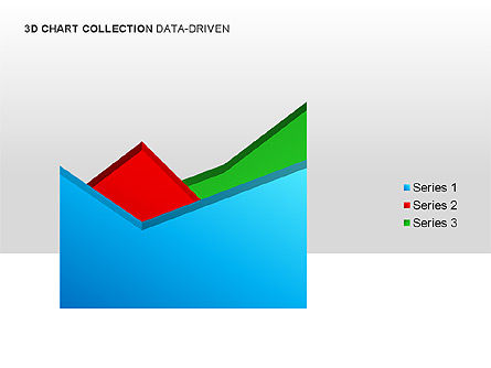 3D Charts in Yellow (Data-Driven) Collection , Slide 11, 00001, Graph Charts — PoweredTemplate.com