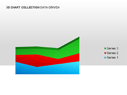 3D Charts in Yellow (Data-Driven) Collection , Slide 12, 00001, Graph Charts — PoweredTemplate.com