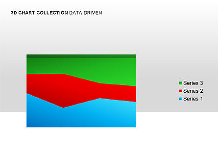 3D Charts in Yellow (Data-Driven) Collection , Slide 14, 00001, Graph Charts — PoweredTemplate.com