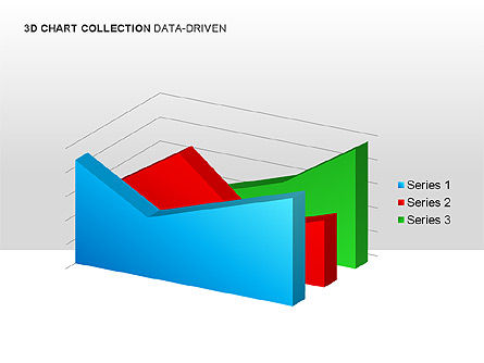 3D Charts in Yellow (Data-Driven) Collection , Slide 15, 00001, Graph Charts — PoweredTemplate.com